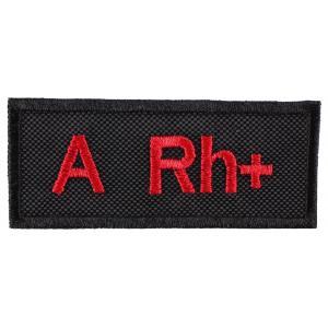 Nášivka s krvnou skupinou A Rh +