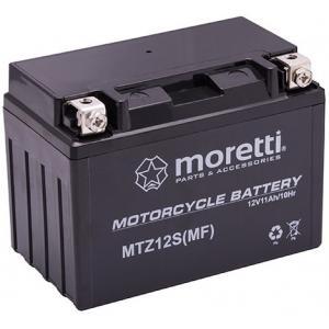 Bezúdržbová gélová batéria Moretti MTZ12S, 12V 10Ah