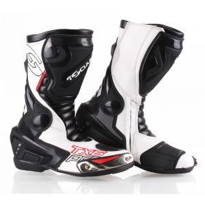Topánky na motorku Tschul TX6-Pro čierno-biele