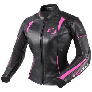 Dámska bunda Tschul 828 čierno-ružová