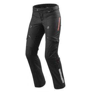 Dámske nohavice na motorku Revit Horizon 2 čierne predĺženej