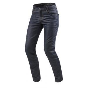 Jeansy na motorku Revit Lombard 2 RF tmavo modré výpredaj