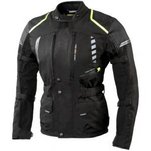 Moto bunda Rebelhorn Hiker II čierno-fluo žltá