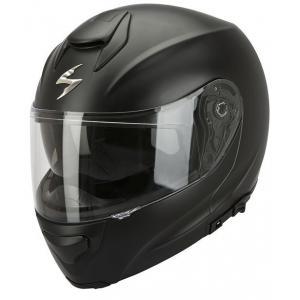 Moto prilba výklopná Scorpion EXO-3000 čierna matná
