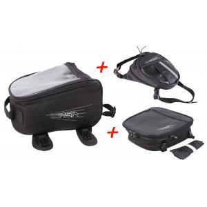 SET: RSA tankvak + kapsička na stehno + taška na sedlo