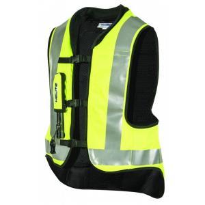 Airbagová vesta HELITE Airnest fluo žltá