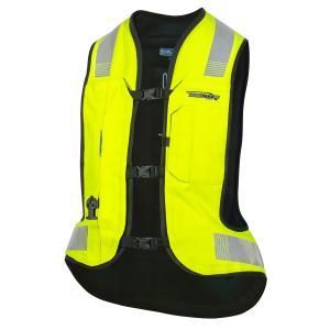 Airbagová vesta HELITE Turtle 2 fluo žltá
