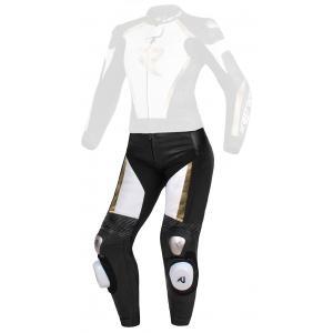 Dámske nohavice Street Racer Kiara čierno-bielo-zlaté