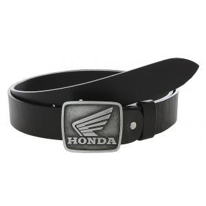 Kožený moto opasok se sponou Honda