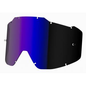 Modro irídiovej sklo do okuliarov Shot Assault/ Iris