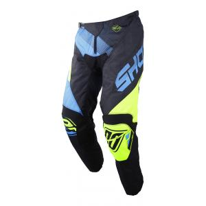 Motokrosové nohavice Shot DEVO Ultimate modro-fluo žlté výpredaj