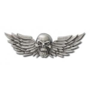 Nalepovacie emblém Skull Wings