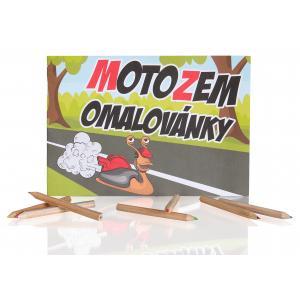 Maľovanky MotoZem
