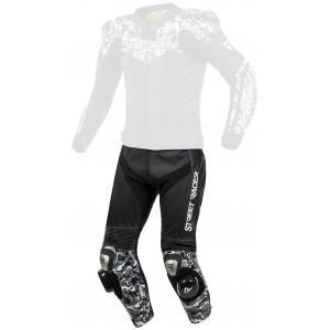 Pánske nohavice Street Racer Pattern čierno-šedé