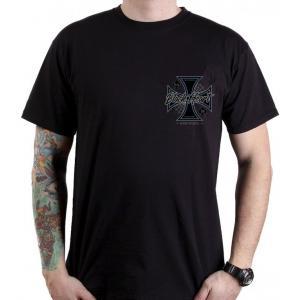 Pánske tričko Black Heart Chopper Cross