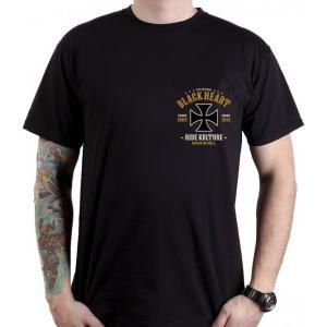 Pánske tričko Black Heart Whiskery
