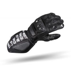 Rukavice na motocykel Street Racer WRS čierne