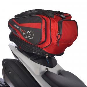 Tankbag a taška na sedlo Oxford T30R Time Tank 'n' tailer čierno-červená