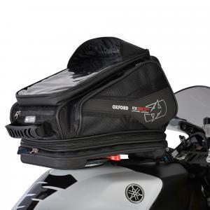 Tankbag na motocykel Oxford Q30R QR čierny