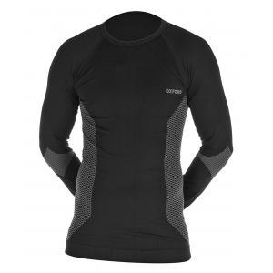 Termo tričko s dlhým rukávom Oxford Base Layer čierne