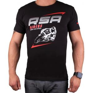 Tričko RSA Riders čierne