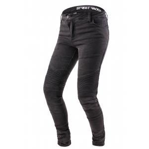 Dámské jeansy na motorku Street Racer Spike čierne výpredaj