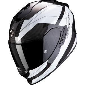 Integrálna prilba Scorpion EXO-1400 Carbon Air Legion čierno-biela