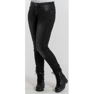 Dámske jeansy na motocykel BROGER Florida čierne výpredaj