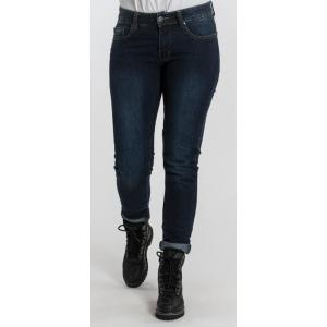 Dámske jeansy na motocykel BROGER Florida modré výpredaj