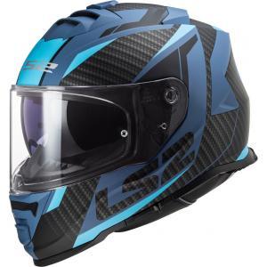 Integrálna prilba na motocykel LS2 FF800 Storm Racer čierno-modrá