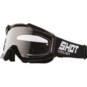 Motokrosové okuliare Shot Assault Solid čierne