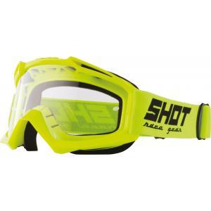 Motokrosové okuliare Shot Assault Solid fluo žlté