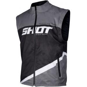 Softshellová vesta Shot Lite čierno-šedo-biela výpredaj