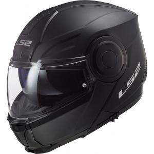 Vyklápacia prilba na motocykel LS2 FF902 Scope Solid čierna matná