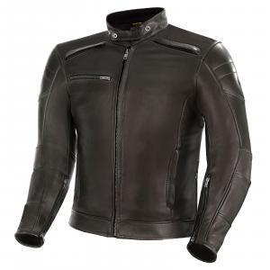 Bunda na motocykel Shima Blake hnedá výpredaj