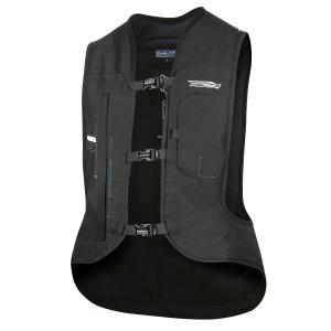 Elektronická airbagová vesta HELITE e-Turtle čierna