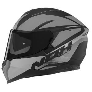 Integrálna prilba na motocykel NOX N302 Strabus čierno-strieborná
