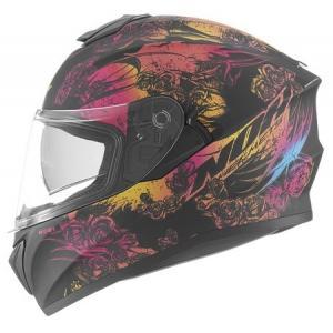 Integrálna prilba na motocykel NOX N918 Kero čierno-ružová