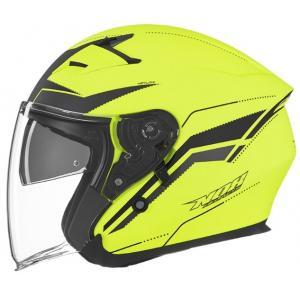 Otvorená prilba na motocykel NOX N127 Late žltá