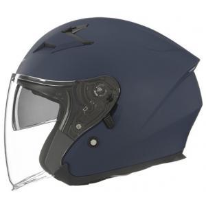 Otvorená prilba na motocykel NOX N127 modrá matná