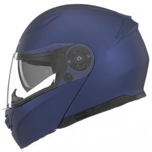Vyklápacia prilba na motocykel NOX N965 modrá matná