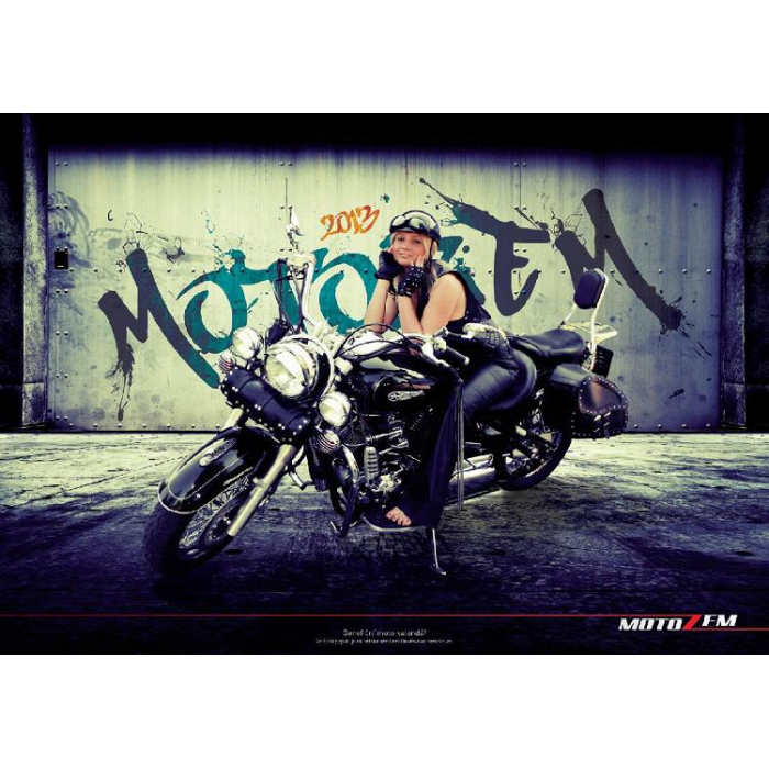 Benefiční moto kalendář 2013