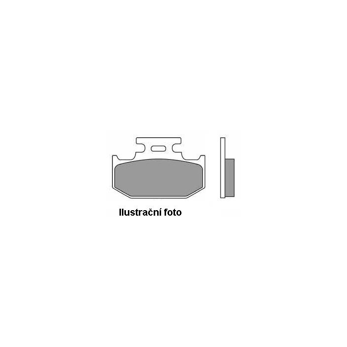 Brzdové doštičky přední/zadní NHC-CU-1