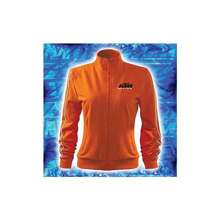 Dámská mikina s motivem KTM oranžová vypredaj výpredaj