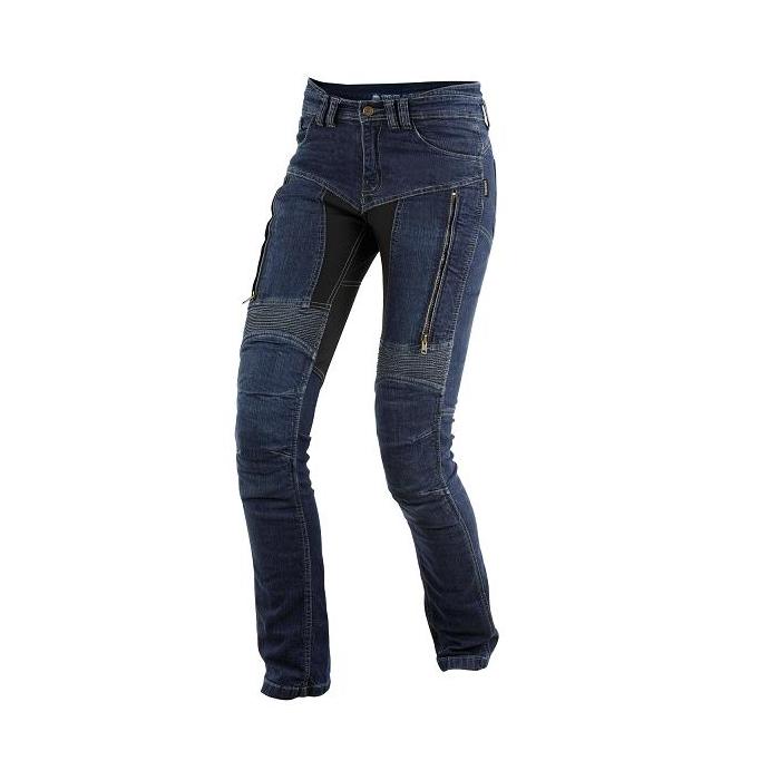 Dámské kevlarové jeansy na motorku Trilobite prodl