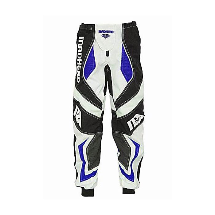 Dětské MX kalhoty na moto - Madhead-X2B modré