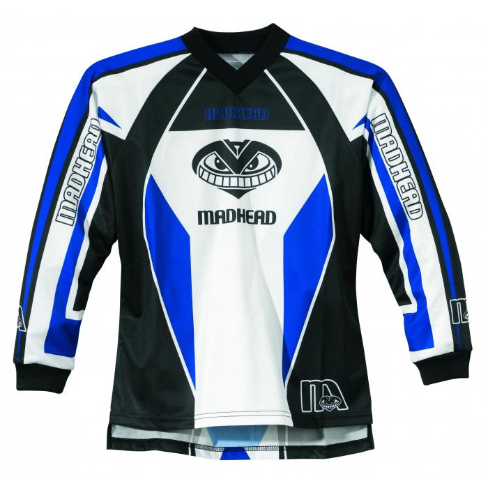 Dětský MX dres Madhead-X2B modrý
