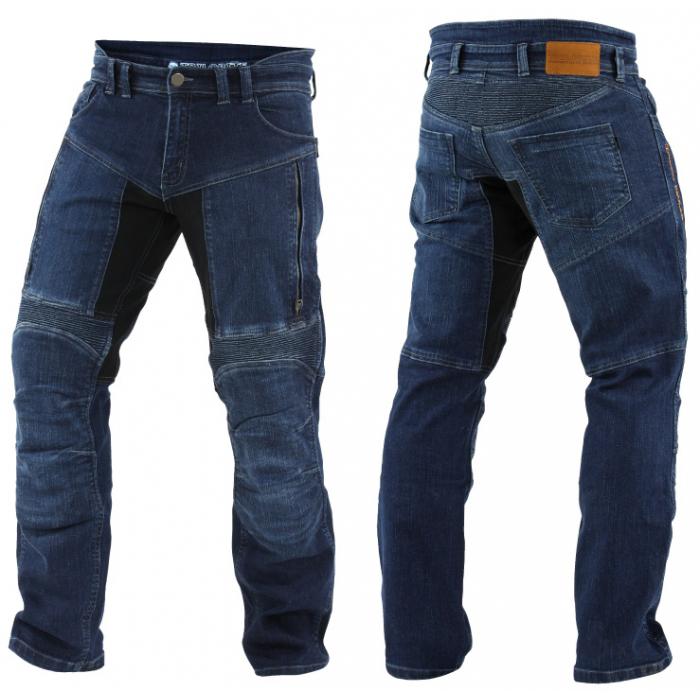 Kevlarové jeansy na motorku Trilobite