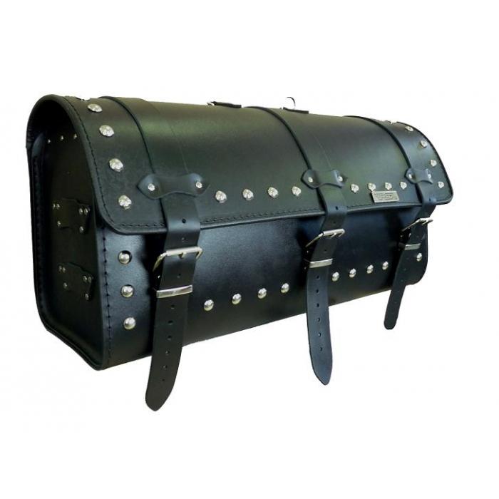 Kožený moto kufor na motorku Chopper RSA-14B vypredaj