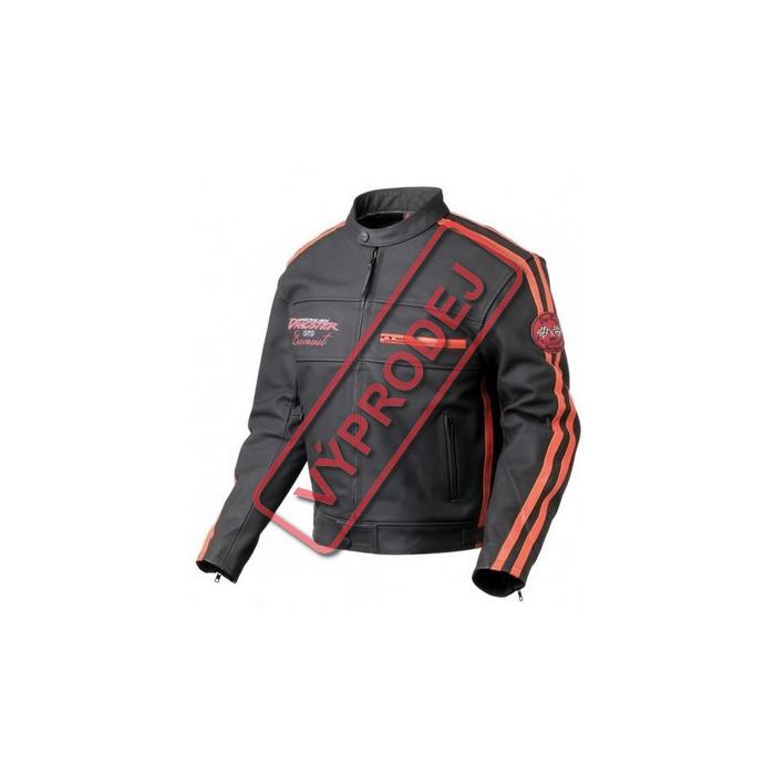 Moto bunda kožená Nazran Burnout - vel. 7XL